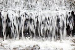 Abstrakt närbildvattenfall Royaltyfria Foton