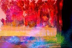 Abstrakt Na szkle obraz royalty free