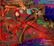 Abstrakt na szkle obraz stock