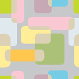 abstrakt nahtloses Muster auf grauem Hintergrund Karikatur getrennter Baum auf weißem Hintergrund Stockbilder