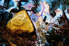 Abstrakt naturlugnt vatten Royaltyfri Fotografi