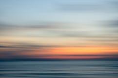 Abstrakt natursolnedgång Royaltyfri Fotografi