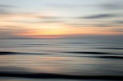 Abstrakt natursolnedgång Royaltyfri Foto