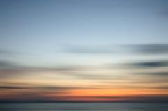 Abstrakt natursolnedgång Royaltyfria Bilder