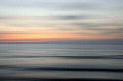 Abstrakt natursolnedgång Fotografering för Bildbyråer