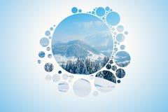 abstrakt naturwallpaper Royaltyfri Bild