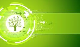 Abstrakt natury Zielony tło royalty ilustracja