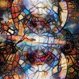 abstrakt negro spiritual stock illustrationer