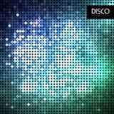Abstrakt neonbakgrund för disko Arkivfoton