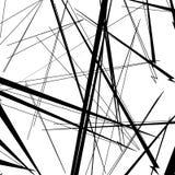 Abstrakt, nieregularny linia wzór, tło Monochromatyczny geomet ilustracji