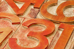 abstrakt nummerred Arkivfoto
