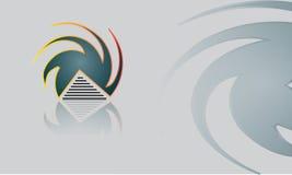 Abstrakt ny logovektor Fotografering för Bildbyråer