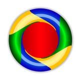 Abstrakt oändligt Företags symboler EPS10 Royaltyfri Fotografi