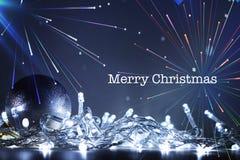 Abstrakt obrazkowa pocztówka dla bożego narodzenia świętowania obrazy royalty free