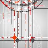 Abstrakt okrąża tło Obraz Stock