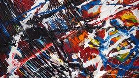abstrakt oljemålning Royaltyfria Foton