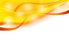 abstrakt orange Royaltyfria Bilder