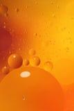 Abstrakt orange bakgrund Royaltyfri Bild