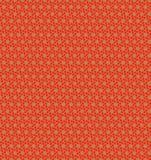 Abstrakt orange tapet för blommamodell Royaltyfri Bild