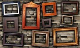 Abstrakt ordning av ramar Royaltyfri Foto