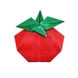 Abstrakt origami för tomat Arkivfoto
