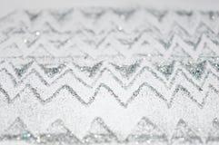 Abstrakt oskarp krabb bakgrund av silver blänker mousserar Arkivfoton