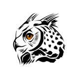 abstrakt owl Arkivbilder