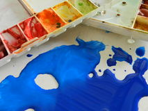 abstrakt palett för bakgrundsfärgdesign Royaltyfri Fotografi