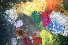 abstrakt palett för bakgrundsfärgdesign Royaltyfria Bilder