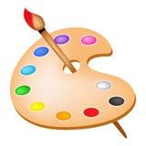 abstrakt palett för bakgrundsfärgdesign Arkivbild
