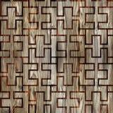 Abstrakt panelmodell - sömlös bakgrund - wood panel Royaltyfria Bilder