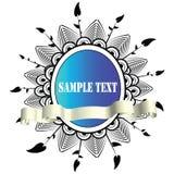 abstrakt paneltext Royaltyfri Fotografi
