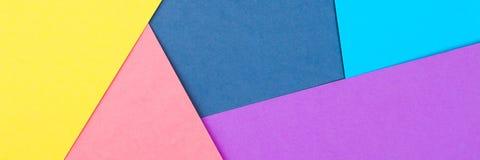 Abstrakt papper är färgrik bakgrund, den idérika designen för pastellfärgad tapet Arkivfoton