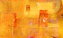 Abstrakt pappers- collage Arkivfoto