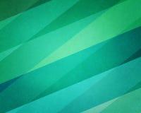 Abstrakt paskujący błękitny, zielony tło z projektem i Fotografia Royalty Free