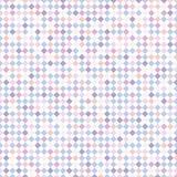 Abstrakt paskujący kwadrata wzór z purpurami, błękit, różowy pastel c Zdjęcie Royalty Free