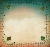 abstrakt pastell för bakgrundsfractalbild vektor illustrationer