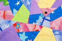 abstrakt patchwork Arkivbilder