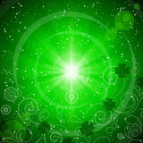 abstrakt patrick s för bakgrundsdaggreen st Arkivfoto