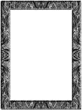 abstrakt penna för teckningsram Royaltyfri Foto