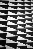 abstrakt piggvägg Arkivfoto