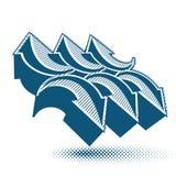 Abstrakt pilvektorsymbol, mall för grafisk design för vektor, v Royaltyfria Bilder