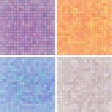 Abstrakt pixelated colourful różnica royalty ilustracja