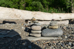 Abstrakt plaży skały Obraz Royalty Free
