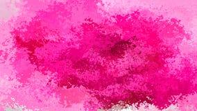 Abstrakt plamiący deseniowej prostokąta tła gorących menchii róży Burgundy fuksi magenta kolor waterco - nowożytna obraz sztuka - ilustracji