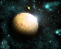 abstrakt planet Royaltyfria Foton