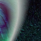 abstrakt planet Arkivfoto