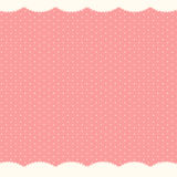Abstrakt polka Dot Background, vektorillustration Arkivbilder
