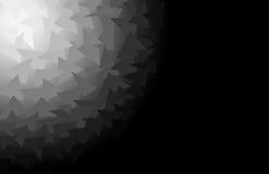 abstrakt polygon vektor illustrationer