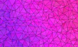 Abstrakt polygonal bakgrund Royaltyfri Bild